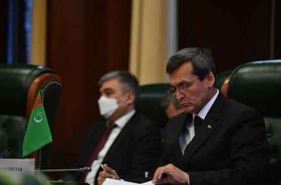 Мередов выразил соболезнование Киргизии в связи со смертью их граждан