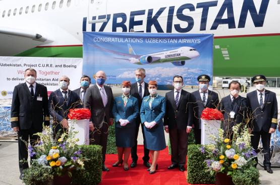Узбекистан получил шестой по счёту авиалайнер Boeing 787