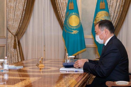 Президента проинформировали о деятельности железных дорог Казахстана