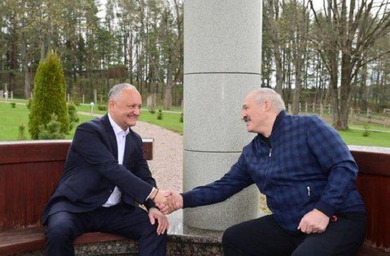 Экс-президент Молдовы и глава Беларуси обсудили вопросы двусторонних отношений между странами
