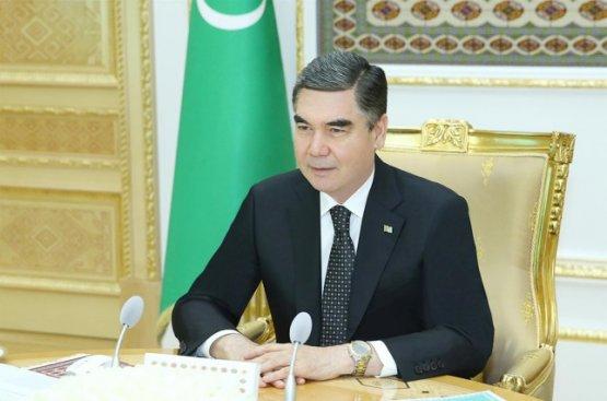 Бердымухамедов распорядился о проведении мероприятий в честь 140-летия Ашхабада на высшем уровне