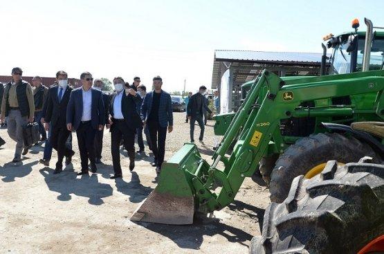 В Киргизии начал свою деятельность самый крупный мясокомбинат в стране