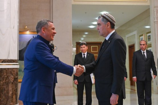 Президент Татарстана прибыл в Туркменистан с рабочим визитом