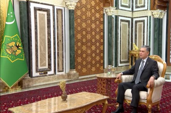 Бердымухамедов в интервью рассказал о мерах по защите страны от пандемии