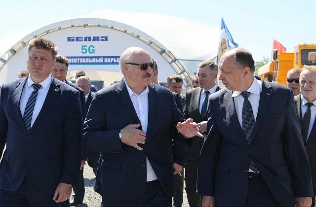 Белорусский лидер пообещал помочь с реализацией сырья предприятию «Гранит»