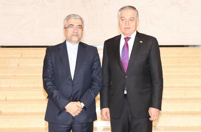 Министр иностранных дел Таджикистана принял главу минэнерго Ирана