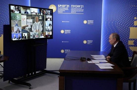Глава России встретился с членами мирового инвестиционного сообщества