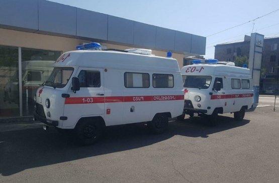 Япония подарит Армении 51 машину «Скорой помощи»