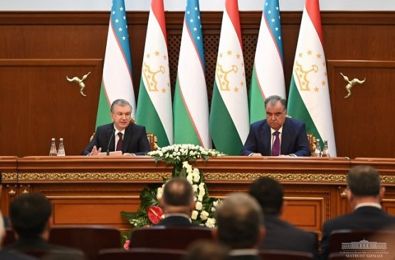 Главы Узбекистана и Таджикистана одобрили Совместное заявление
