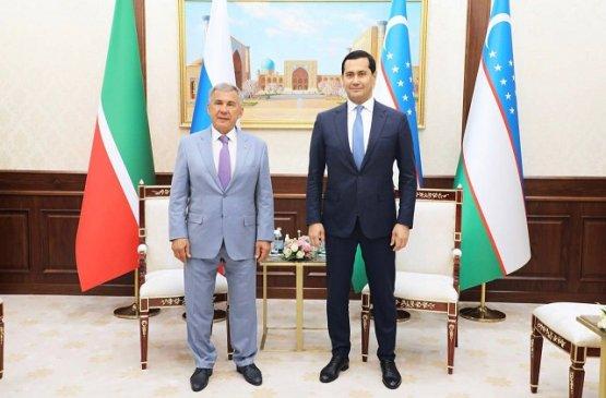 Республики Татарстан и Узбекистан будут развивать торгово-экономические отношения