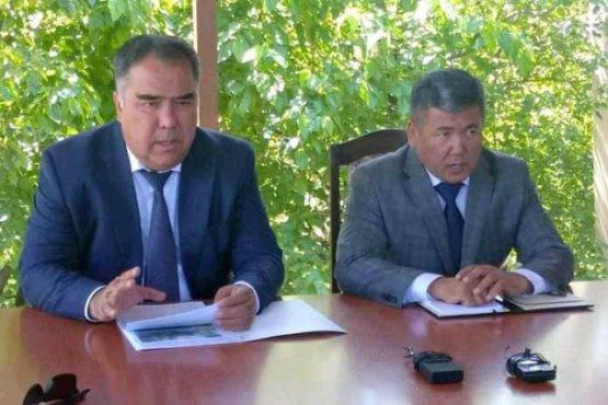 Прошла встреча администрации Согдийской области Таджикистана и Баткенской области Кыргызстана