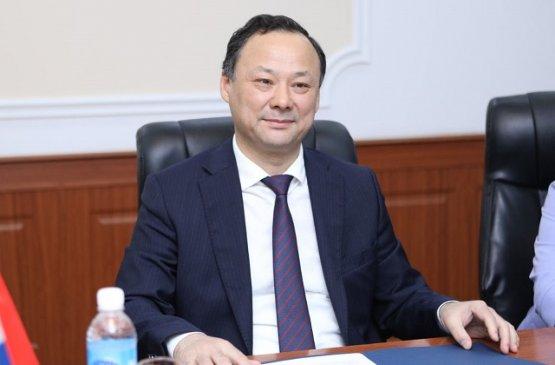 Глава МИД Киргизии и посол России обсудили предстоящие внешнеполитические мероприятия