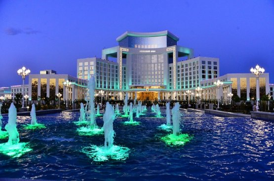 В Ашхабаде прошла церемония открытия нового фешенебельного отеля «Аркадаг»