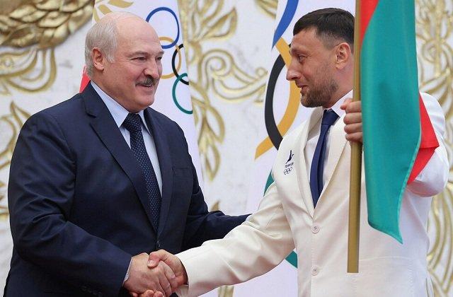 Президент Белоруссии напутствовал спортивную делегацию страны на Олимпиаду в Токио