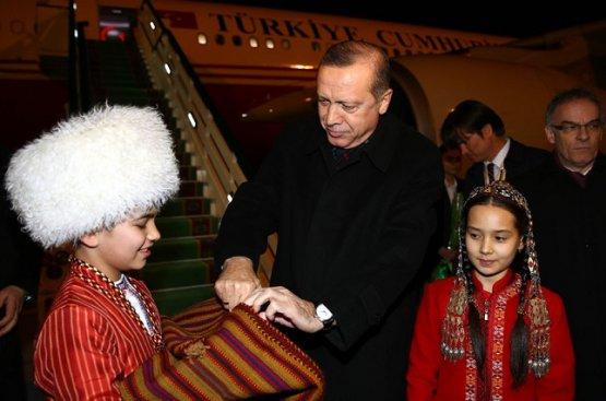 Реджеп Тайип Эрдоган тщательно готовится к визиту в Туркменистан