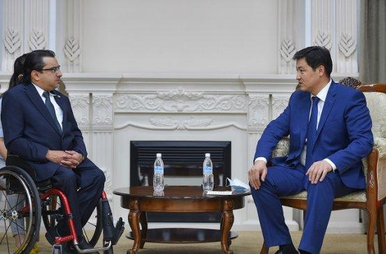 Азиатский паралимпийский комитет заинтересован в реализации проектов в Кыргызстане