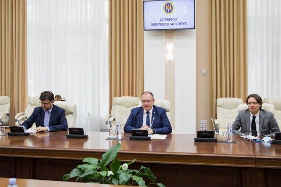 И.о. премьера Молдовы провёл встречу с миссией наблюдателей ОБСЕ