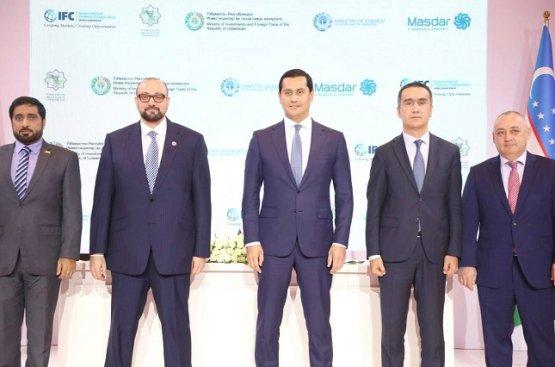 Компания ОАЭ Masdar построит в Узбекистане 2 электростанции за 300 миллионов долларов