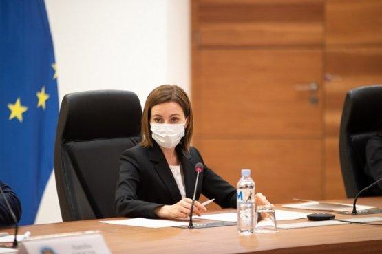 Молдавский лидер обсудила с руководством МИДЕИ приоритеты внешней политики