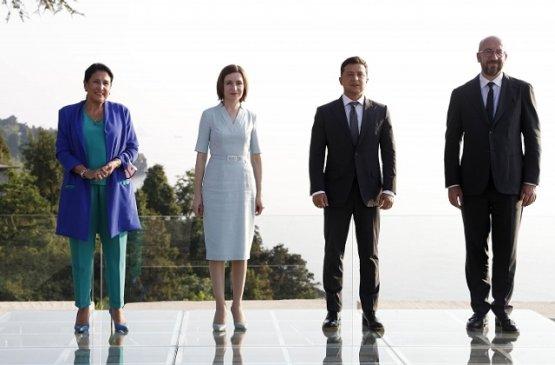 Президент Молдовы провела в Батуми встречу с коллегами из Грузии и Украины
