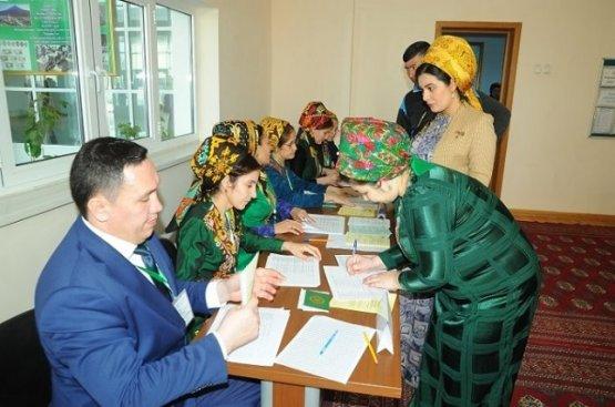 Этрапские и городская избирательные комиссии Лебапского велаята сформированы заново