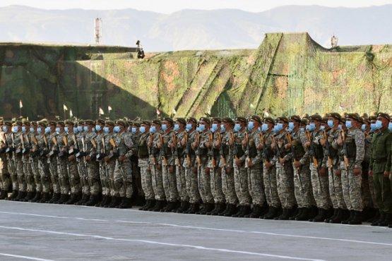 Рахмон до начала парада объявил внезапную тревогу всех воинских подразделений Таджикистана