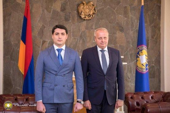Армения готова продолжать сотрудничество с Россией в сфере борьбы с преступностью