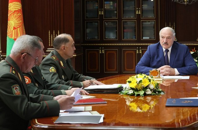 По поручению главы государства усилена охрана государственной границы Белоруссии