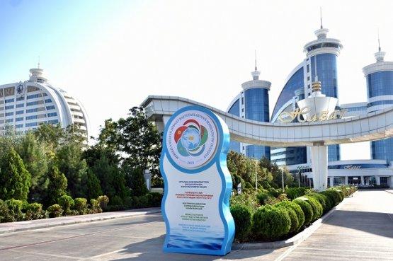 Президенты Центральной Азии совершили прогулку по туристической зоне «Аваза» в Туркменистане