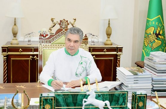 Президент Туркменистана призвал соотечественников вести здоровый образ жизни