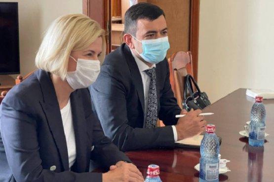 Башкан Гагаузии пригласила депутата Румынии посетить автономную республику