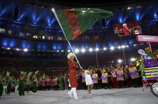 Бердымухамедов поздравил туркменских спортсменов с успешным выступлением на Играх в Токио