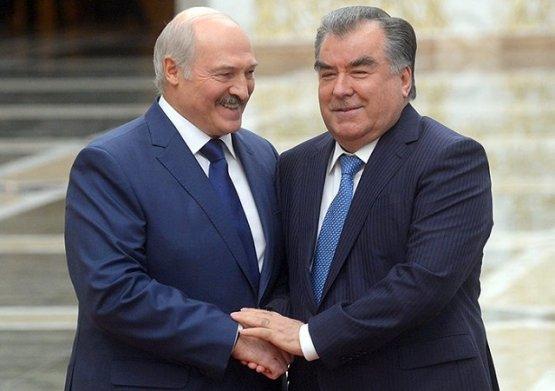 Президенты Таджикистана и Белоруссии обсудили перспективы стратегического партнёрства