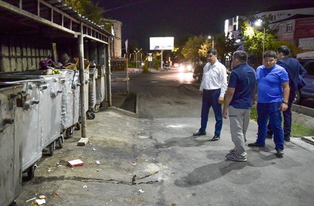Мэр Бишкека лично взялся за решение проблемы с мусором