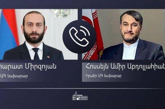 Главы МИД Армении и Ирана высказались за укрепление многовековых межнациональных отношений