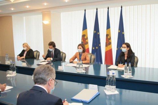 Молдавия надеется улучшить торговые отношения с Францией