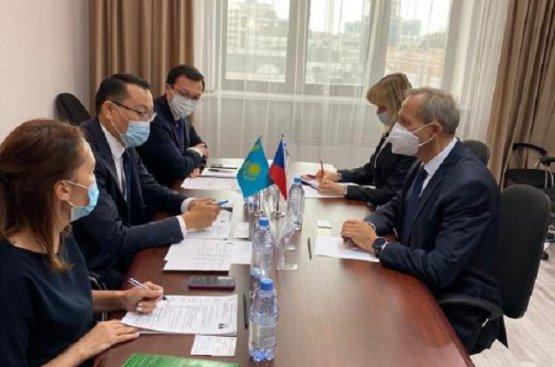 Увеличился экспорт казахских товаров высокого качества в Чешскую Республику на 26,2%
