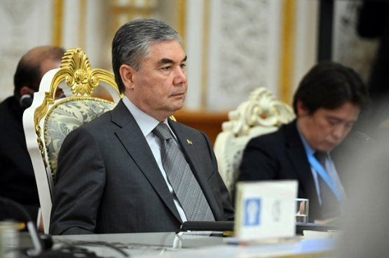 Завершился визит президента Туркменистана в Таджикистан