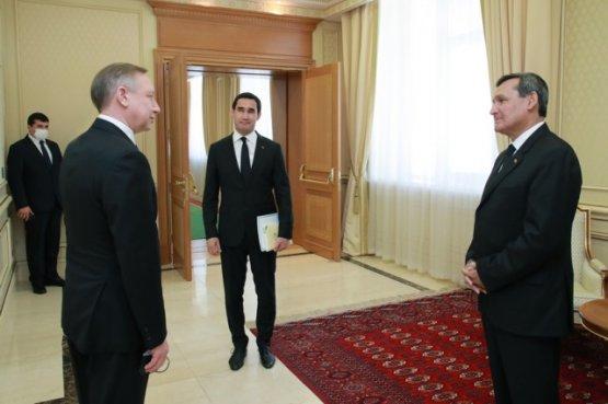 Российская делегация приняла участие в торжествах в честь 30-ти летия независимости Туркменистана