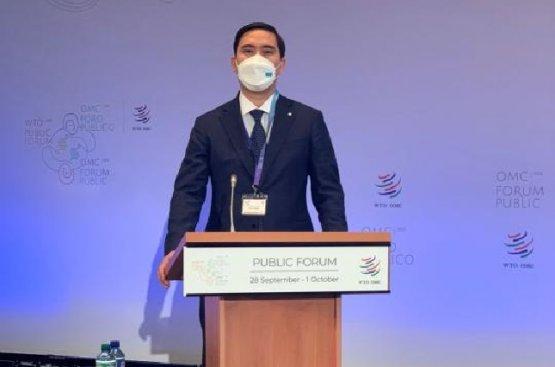 Казахстан выдвинул свои идеи на Пленарной сессии Общественного форума ВТО