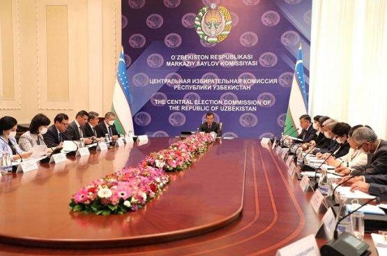 Делегация наблюдателей СНГ начала свою работу в Узбекистане