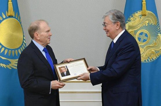 Токаев проводил в добрый путь посла США, завершившего свою дипмиссию в Казахстане
