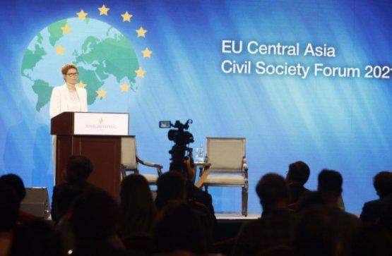 Туркменские общественные организации поучаствовали в гражданском форуме ЕС – Центральная Азия