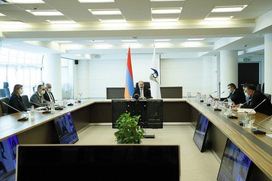Никол Пашинян призвал к устранению барьеров в торговле и повышению транзитного потенциала Союза