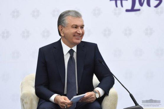 Шавкат Мирзиёев встретился с избирателями Навоийской области