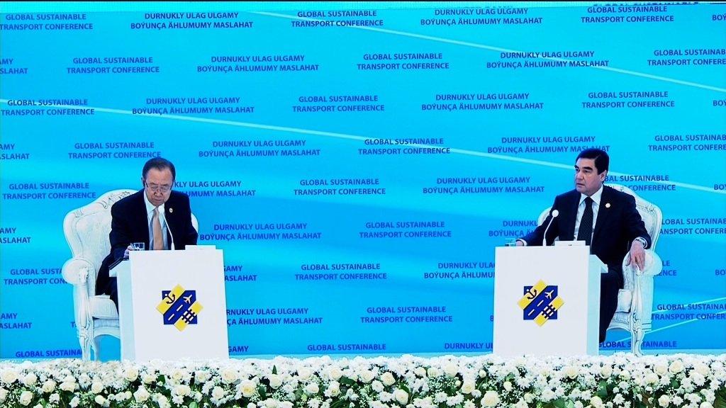 Втуркменской столице открыто новое сооружение представительства ООН вТуркменистане