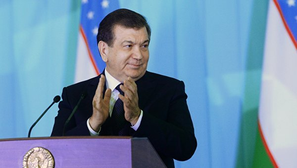 Новый узбекский президент 1-ый визит нанесет в столицуРФ