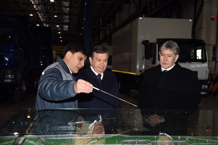 Президент Кыргызстана впервый раз завосемь лет посетит Узбекистан
