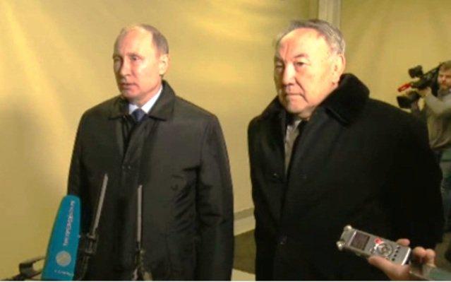 Путин иНазарбаев обсудили предстоящие переговоры поСирии