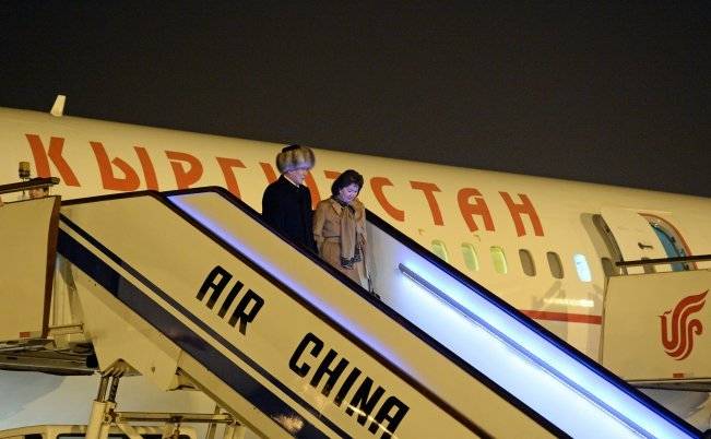 Алмазбек Атамбаев встретился спредседателем Китая СиЦзиньпинем
